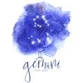Astrology sign Gemini Royalty Free Stock Photo