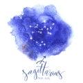 Astrology sign Sagittarius Royalty Free Stock Photo
