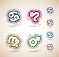 Astrology signs Stock Images