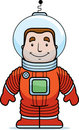 Astronaut Smiling Stock Images