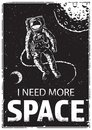 Astronaut at spacewalk.