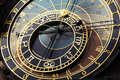 Astronomical clock in Czech capital Prague Stock Photo