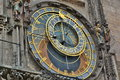 Astronomical Clock Detail. Old...