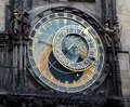 Astronomical clock at Old Town Hall Royalty Free Stock Photo