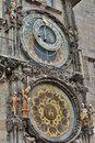 Astronomical clock. Old Town Hall. Prague. Czech Republic Royalty Free Stock Photo