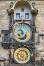 Astronomical clock orloj in the old town of prague czech republic Royalty Free Stock Images
