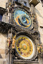 Astronomical Clock in Prague Royalty Free Stock Images