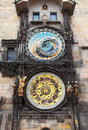 Astronomical clock, Prague Royalty Free Stock Photo