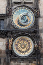 Astronomical Clock in Prague Stock Image