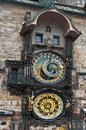 Astronomical clock Prague Royalty Free Stock Photography