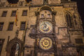 Astronomical clock in prague Royalty Free Stock Photography