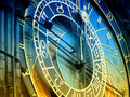 Astronomical clock Prague Royalty Free Stock Photos