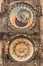 Astronomical clock-Prague Royalty Free Stock Images