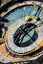 astronomical clock. Prague Royalty Free Stock Photo