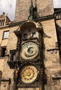Astronomical clock in prague czech republic Stock Photography