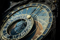 Astronomical clock, Prague, Sign of Zodiac Royalty Free Stock Image