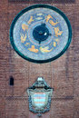 Astronomical clock, Torrazzo tower Royalty Free Stock Photo