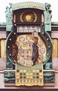 Astronomical clock, Vienna Stock Photo