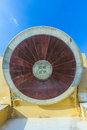 Astronomical instrument at jantar mantar observatory jaipur rajasthan india Royalty Free Stock Photos