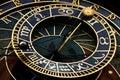 Astronomical prague clock Royalty Free Stock Photo