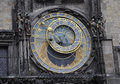 Astronomy Clock from Prague in Czech Republic Royalty Free Stock Photo