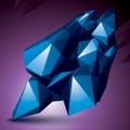Asymmetric 3D Abstract Object,...