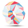Asymmetric 3D Abstract Striped...