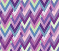 Asymmetric seamless herringbone inlay multicolore multicolored zigzag Royalty Free Stock Photos