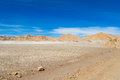 Atacama desert arid landscape Royalty Free Stock Photo