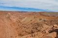 Atacama desert hills Royalty Free Stock Photo