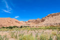 Atacama desert landscape Royalty Free Stock Photo