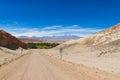 Atacama desert road Royalty Free Stock Photo