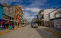 Atacames ecuador march steet view of beach town located on ecuador s northern pacific coast it is located in the province Royalty Free Stock Photography