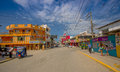 Atacames ecuador march steet view of beach town located on ecuador s northern pacific coast it is located in the province Stock Photo