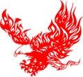 Águila en llama 4