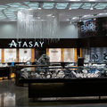 Atasay store istanbul turkey nov at ataturk international airport Royalty Free Stock Images