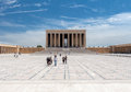 Ataturk mausoleum ankara turkey Royalty Free Stock Photo