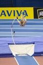 ATH: Aviva Indoor Athletics Royalty Free Stock Photo