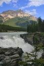 Athabasca falls Stock Photo