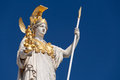 Athena, goddess of greek mythology Royalty Free Stock Photo