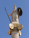 Athena Pallas statue in Greece Stock Photos