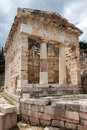 Athenians Treasury Delphi Greece Stock Images