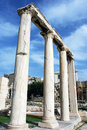 Athens Archaeological Site Stock Images
