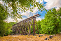 Athens Georgia Train Trestle Royalty Free Stock Photo