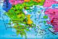 Photo : Athens Greece map cyclades  vr