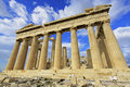 Athens greece parthenon Royaltyfri Fotografi