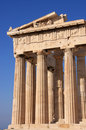 Athens greece parthenon Royaltyfria Bilder