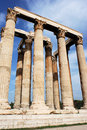 Athens Temple Ruins Royalty Free Stock Photos