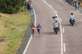 Athlète runners comrades marathon Images libres de droits