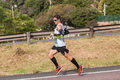 Athlète runners comrades marathon Photo stock